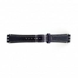 Klokkerem Swatch (alt.) ES.IRON-2.05 Lær Blå 19mm