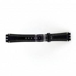 Klokkerem Swatch (alt.) ES.IRON-3.05 Lær Blå 19mm