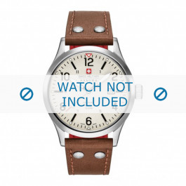 Klokkerem Swiss Military Hanowa 06-4280.04.002.05 Lær Konjakk 22mm