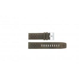 Klokkerem Timex P49626 Lær Brun 22mm