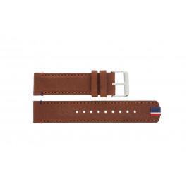 Klokkerem Tommy Hilfiger TH-248-1-14-1685 / TH679301739 Lær Brun 22mm