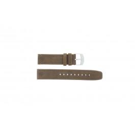 Klokkerem Timex P49828 Lær Brun 20mm
