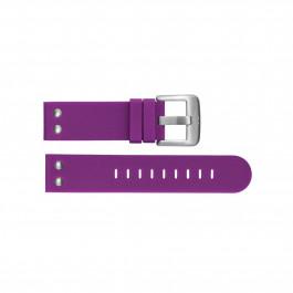 TW Steel klokkerem TWB515 Silikon Purple 22mm