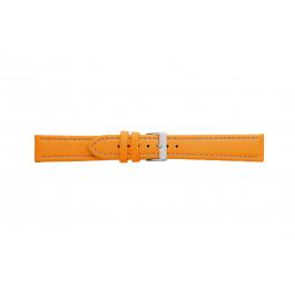 Morellato klokkerem Tipo Locman U2195432086SB24 / PMU086LOCMAN24 Glatt lær Oransje 24mm + søm brun