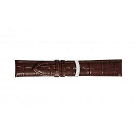 Morellato klokkerem Extra X3395656032CR26 / PMX032EXTRA26 Krokodilleskinn Brun mørk 26mm + standard sømmer