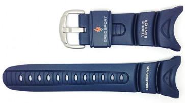 Klokkerem Casio 10158454 Plast Blå 24mm
