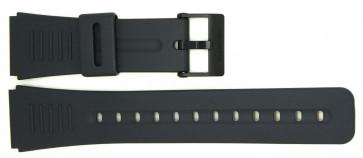 Klokkerem Casio CMD-40-1UZT / CMD-40B-1UZT / DBC-30-1UZ (10285353) Plast Svart 22mm