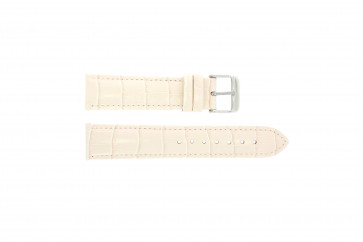 ekte lær krokodille lys rosa 24mm PVK-285