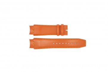 Klokkerem Dolce & Gabbana 3719770107 Lær Oransje 20mm
