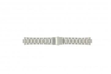 Seiko klokkerem 7T62-0HW0 Stål Sølv 21mm