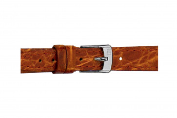 Morellato klokkerem Classico Cucito D2213052041DO08 / PMD041CLSCCU08 Krokodille skinn Brun 8mm + standard sømmer