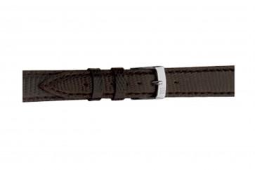 Morellato klokkerem Violino Gen.Lizard X2053372030CR10 / PMX030VIOLIN10 Lizard lær Brun mørk 10mm + standard sømmer