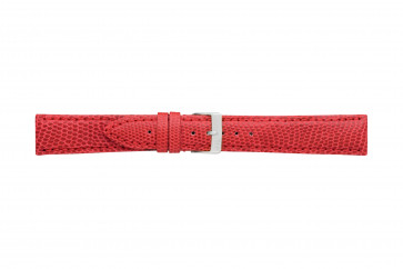 Morellato klokkerem Violino Gen.Lizard X2053372083CR10 / PMX083VIOLIN10 Lizard lær Rød 10mm + standard sømmer