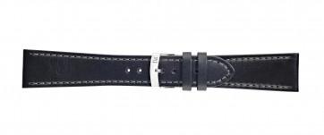 Morellato klokkerem Sportage X4471696019CR24 / PMX019SPORTA24 Glatt lær Svart 24mm + standard sømmer