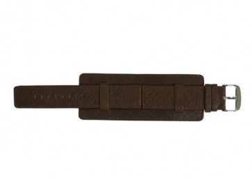 Davis klokkerem B0221 Lær Brun 22mm