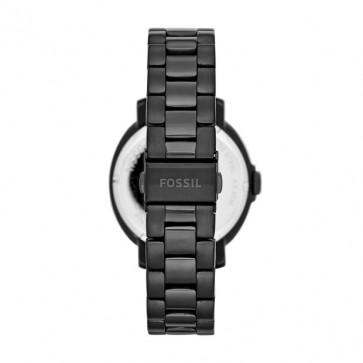 Fossil klokkerem ES3451 Rustfritt stål Svart 18mm