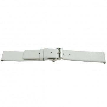 klokkerem lær hvit 28mm EX-K510