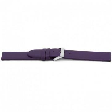 Klokkerem Universell G801 Lær Purple 20mm
