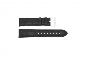 Klokkerem 305.01.16 XL Lær Svart 16mm + søm svart