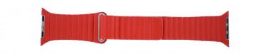Apple (erstatning modell) klokkerem LS-AB-110 Lær Rød 42mm