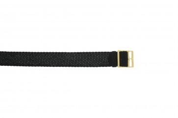Perlon rem 14mm svart