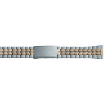 gullfarget stretch klokkerem som passer alle dameklokker i størrelse 10 mm til 14 mm PVK-EC611