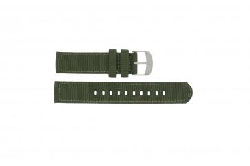 Timex klokkerem T49961 Stoff Grønn 20mm