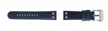 Klokkerem TW Steel TWB400 Lær Blå 22mm