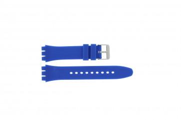 Tzevelion klokkerem Tzev-SW Silikon Blå 18mm