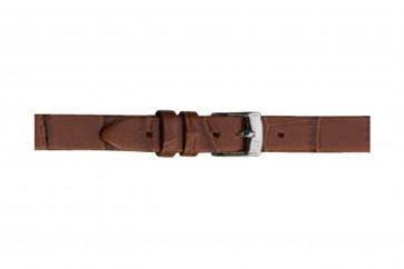Morellato klokkerem Thin D2860656041CR08 / PMD041THINA08 Krokodilleskinn Brun 8mm