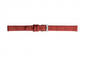 Morellato klokkerem Thin D2860656083CR06 / PMD083THINA06 Krokodilleskinn Rød 6mm