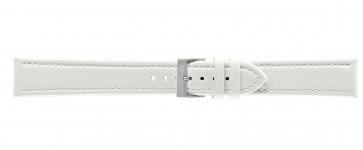 Morellato klokkerem Tipo Locman XL K2195432017SB24 / PMK017LOCMAN24 Glatt lær Hvit 24mm + standard sømmer