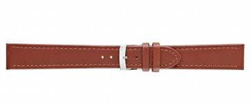Morellato klokkerem Basket XL K3151237041CR24 Glatt lær Brun 24mm + standard sømmer