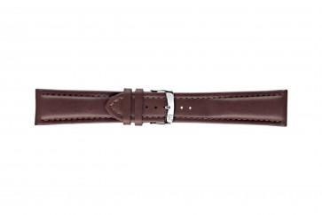 Morellato klokkerem Wide U4026A37034CR26 / PMU034WIDE26 Glatt lær Brun mørk 26mm + standard sømmer