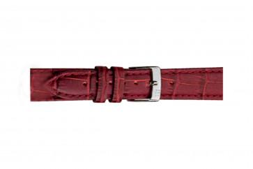 Morellato klokkerem Bolle X2269480080CR24 / PMX080BOLLE24 Krokodilleskinn Bordeaux 24mm + standard sømmer
