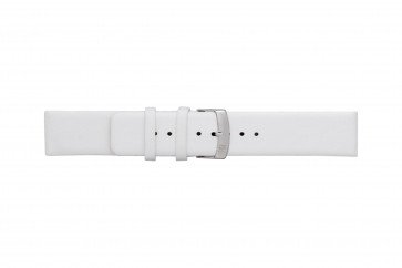Morellato klokkerem Large X3076875017CR28 / PMX017LARGE28 Glatt lær Hvit 28mm