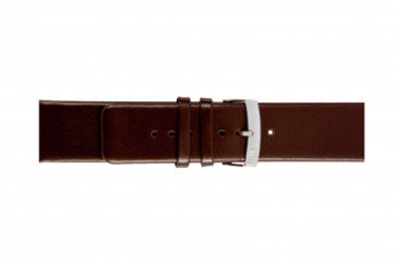 Klokkerem Morellato Large X3076875032CR26 Glatt lær Brun mørk 26mm
