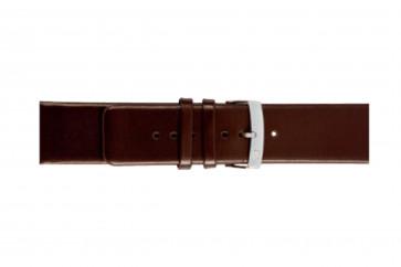 Morellato klokkerem Large X3076875032CR24 / PMX032LARGE24 Glatt lær Brun mørk 24mm