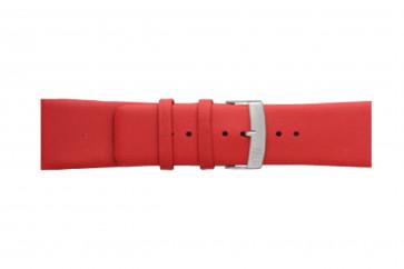 Morellato klokkerem Large X3076875083CR24 / PMX083LARGE24 Glatt lær Rød 24mm