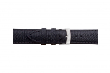 Morellato klokkerem Ibiza X3266773019CR12 / PMX019IBIZA12 Lizard lær Svart 12mm + standard sømmer