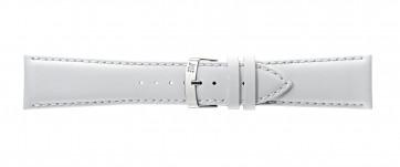 Morellato klokkerem Extra Napa X3395875017CR28 / PMX017EXTRAN28 Lær Hvit 28mm + standard sømmer