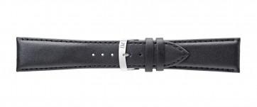 Morellato klokkerem Extra Napa X3395875019CR26 / PMX019EXTRAN26 Lær Svart 26mm + standard sømmer