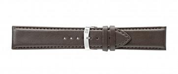 Morellato klokkerem Extra Napa X3395875032CR28 / PMX032EXTRAN28 Lær Brun mørk 28mm + standard sømmer
