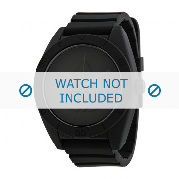 Adidas klokkerem ADH2710 Silikon Svart 24mm