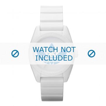 Adidas klokkerem ADH2807 Silikon Hvit 16mm