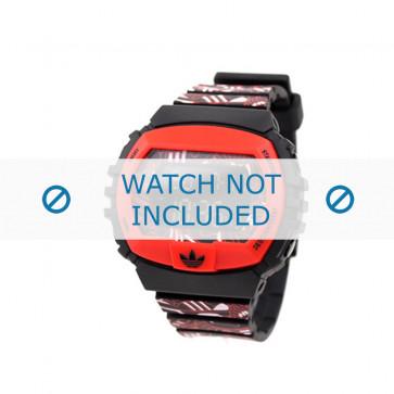 Adidas klokkerem ADH6128 Silikon Rød 16mm