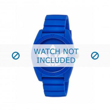 Klokkerem Adidas ADH2656 Plast Blå 22mm