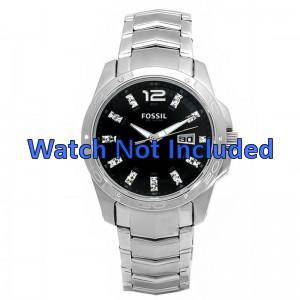 Fossil klokkerem AM4089 Metall Sølv 22mm