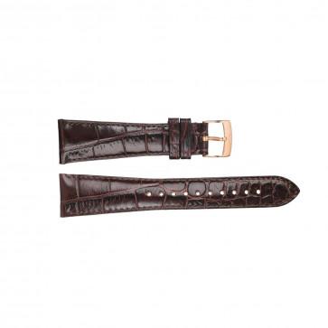 Armani klokkerem AR0293 Lær Brun 22mm + søm brun