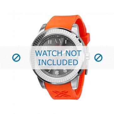 Armani klokkerem AX-1073 Gummi Oransje
